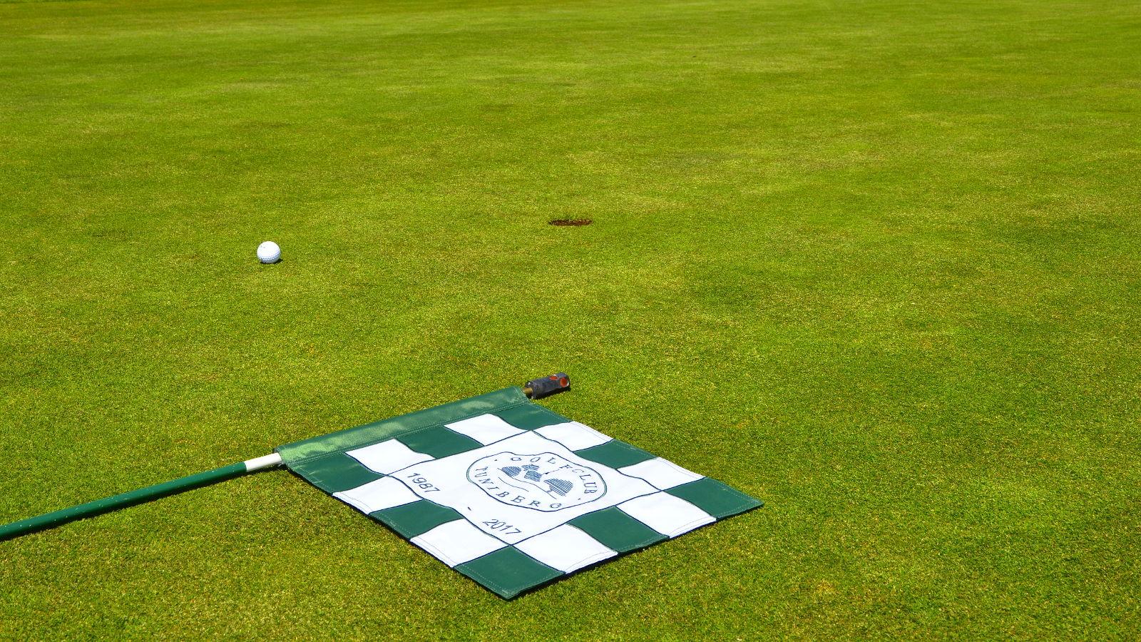 Golfclub Tuniberg Munzingen Jubiläum Fahne