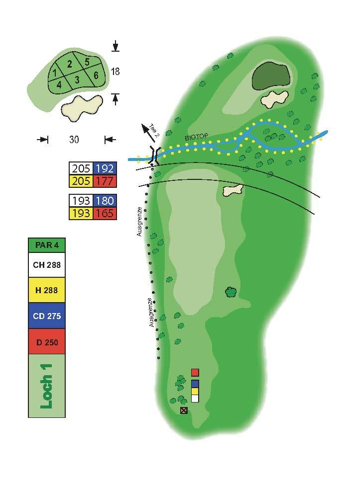 Golfclub Tuniberg Munzingen Birdie Book Seite 6