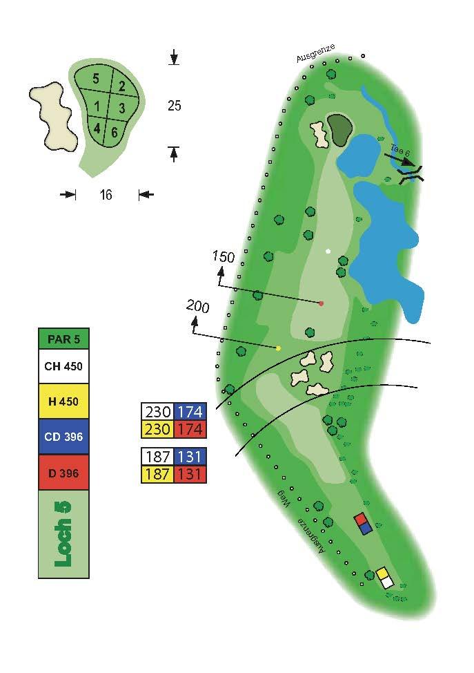 Golfclub Tuniberg Munzingen Birdie Book Seite 10