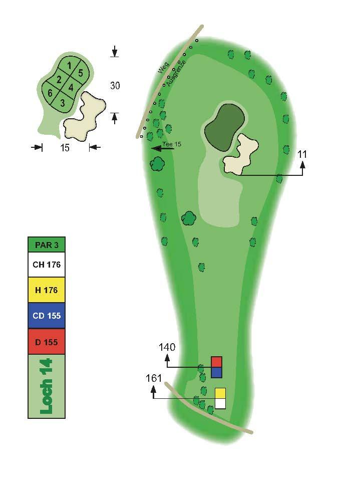 Golfclub Tuniberg Munzingen Birdie Book Seite 19
