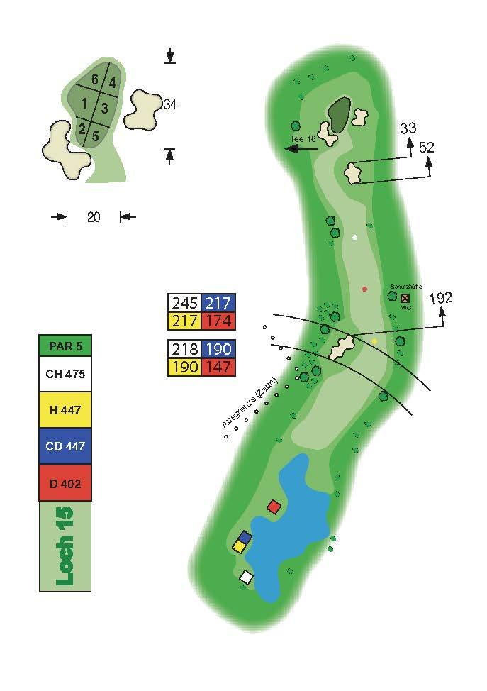 Golfclub Tuniberg Munzingen Birdie Book Seite 20