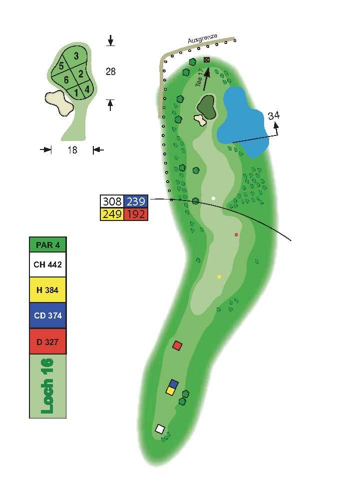 Golfclub Tuniberg Munzingen Birdie Book Seite 21